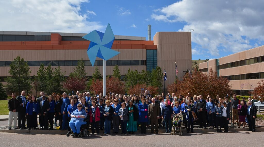 Child Abuse Prevention Month Pinwheel Support Group
