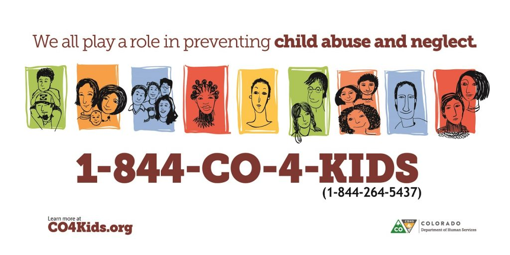 Colorado Child Abuse Neglect Campaign Main Image